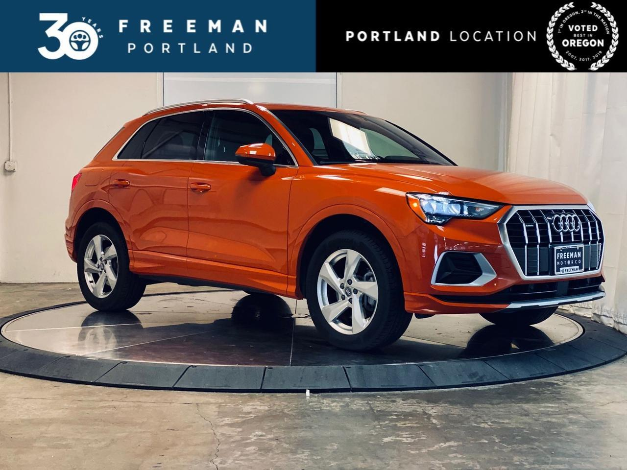 2019 Audi Q3 quattro Panoramic Backup Cam Htd Seats