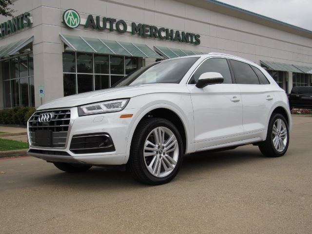 2019 Audi Q5 2.0T Prestige quattro Back-Up Camera Blind Spot Monitor Bluetooth Connection Climate Control Cooled Plano TX
