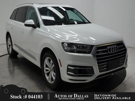 2019_Audi_Q7_3.0T Premium NAV,CAM,PANO,HTD STS,BLIND SPOT,3RD R_ Plano TX