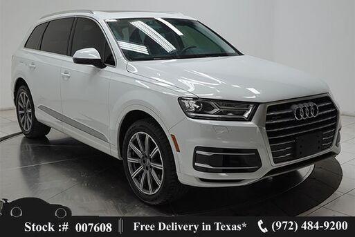 2019_Audi_Q7_55 Premium NAV,CAM,PANO,HTD STS,PARK ASST,3RD ROW_ Plano TX