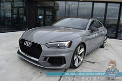 2019_Audi_RS 5 Sportback_AWD / Dynamic Plus Pkg / Matte Alu Optic Carbon Pkg / Auto Start / Heated Leather Seats & Steering Wheel / Bang & Olufsen Speakers / Sunroof / Navigation / Ceramic Front Brakes / Only 8k Miles / 1-Owner_ Anchorage AK