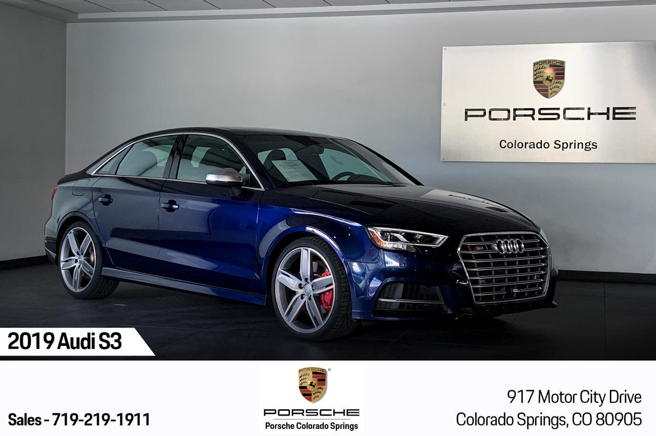 2019 Audi S3 Premium Plus Colorado Springs CO