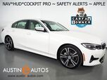 2019 BMW 3 Series 330i Sedan *LIVE COCKPIT PRO, HEADS-UP DISPLAY, NAVIGATION, LANE DEPARTURE & BLIND SPOT ALERT, COLLISION ALERT, BACKUP-CAMERA, MOONROOF, HEATED SEATS/STEERING WHEEL, APPLE CARPLAY