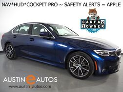 2019_BMW_3 Series 330i Sedan_*LIVE COCKPIT PRO, HEADS-UP DISPLAY, NAVIGATION, LANE DEPARTURE & BLIND SPOT ALERT, COLLISION ALERT, BACKUP-CAMERA, MOONROOF, HEATED SEATS/STEERING WHEEL, APPLE CARPLAY_ Round Rock TX