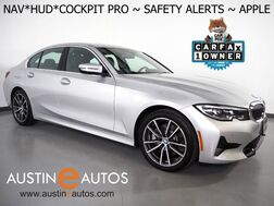 2019_BMW_3 Series 330i Sedan_*LIVE COCKPIT PRO, HEADS-UP DISPLAY, NAVIGATION, LANE DEPARTURE & BLIND SPOT ALERT, COLLISION ALERT, BACKUP-CAMERA, MOONROOF, HEATED SEATS/STEERING WHEEL, APPLE CARPLAY_ Round Rock TX