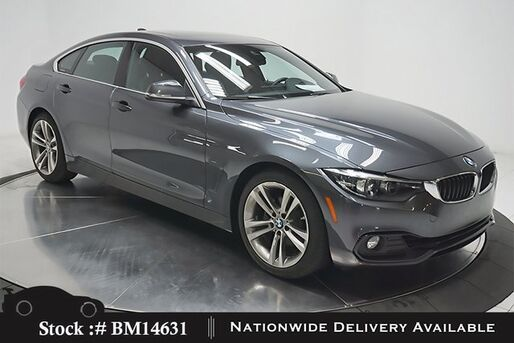 2019_BMW_4 Series_430i Gran Coupe SPORT LINE,NAV,CAM,SUNROOF,HTD STS_ Plano TX