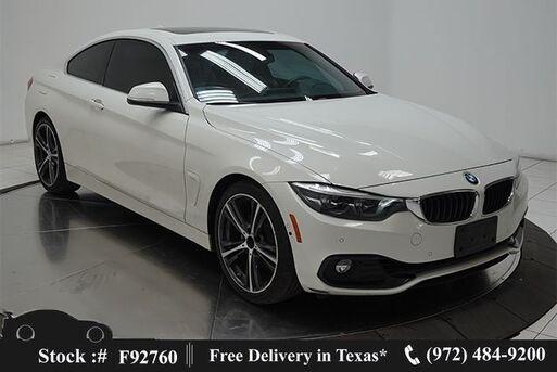 2019_BMW_4 Series_430i SPORT LINE,NAV,CAM,SUNROF,BLIND SPOT,FULL LED_ Plano TX