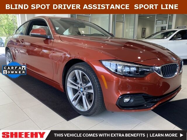 2019 BMW 4 Series 430i xDrive BLIND SPOT DRIVER ASSISTANCE Annapolis MD