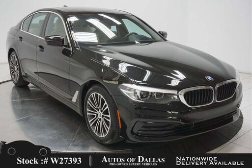 2019_BMW_5 Series_530i SPORT LINE,NAV,CAM,SUNROOF,HTD STS,HEADS UP_ Plano TX