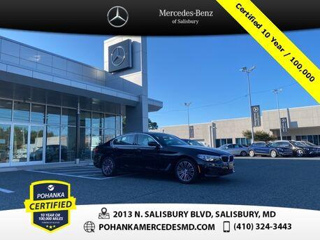 2019_BMW_5 Series_530i xDrive ** Pohanka Certified 10 year / 100,000 **_ Salisbury MD