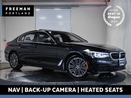 2019_BMW_530i_xDrive Nav Backup Cam Heated Seats Blind Spot Asst_ Portland OR