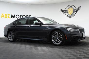2019_BMW_7 Series_740i xDrive M Sport,HUD,Blind Spot,Sky Lounge,Apple Play_ Houston TX