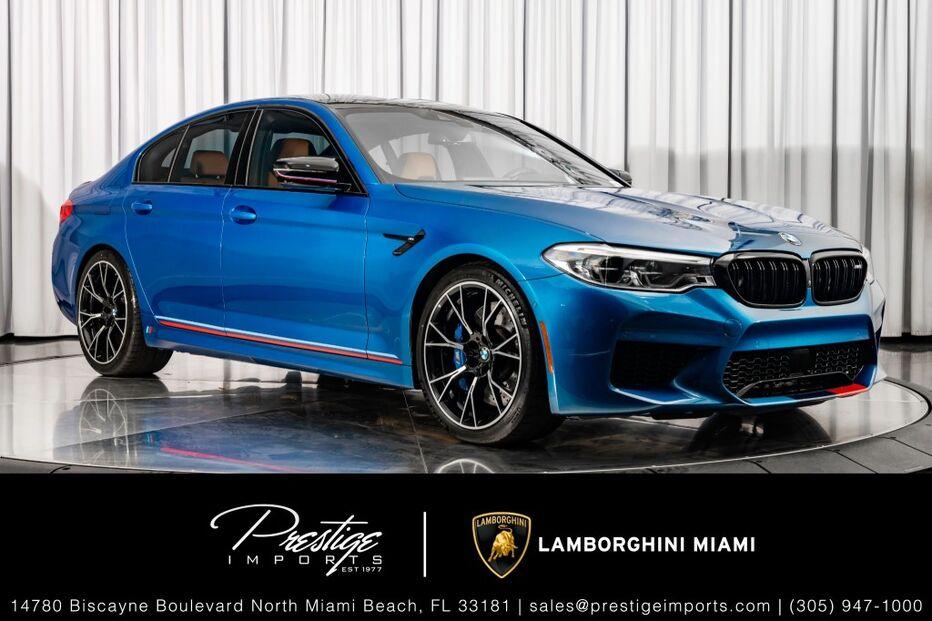 2019_BMW_M5_Competition_ North Miami Beach FL