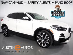 2019_BMW_X2 sDrive28i_*XLINE, HEADS-UP DISPLAY, NAVIGATION, LANE DEPARTURE ALERT, COLLISION ALERT w/BRAKING, BACKUP-CAMERA, PANORAMA MOONROOF, HEATED SEATS/STEERING WHEEL, COMFORT ACCESS, BLUETOOTH, APPLE CARPLAY_ Round Rock TX