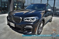 2019_BMW_X3_M40i / AWD / Premium Pkg / Heated Leather Seats / Heated Steering Wheel / Navigation / Panoramic Sunroof / HUD / Blind Spot Alert / Bluetooth / Back Up Camera / Power Liftgate / 1-Owner_ Anchorage AK