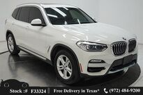 BMW X3 sDrive30i CAM,PANO,HTD STS,PARK ASST,18IN WLS 2019