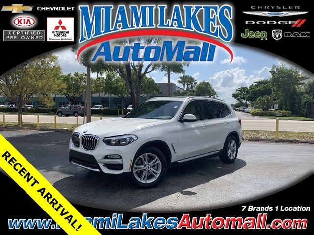 2019 BMW X3 sDrive30i Miami Lakes FL