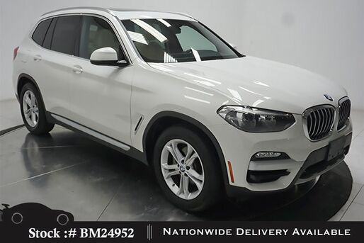2019_BMW_X3_sDrive30i NAV,CAM,PANO,HTD STS,PARK ASST,18IN WHLS_ Plano TX