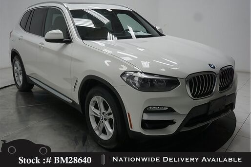 2019_BMW_X3_sDrive30i NAV,CAM,PANO,HTD STS,PARK ASST,18IN WLS_ Plano TX