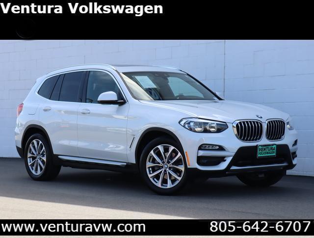 2019 BMW X3 sDrive30i Sports Activity Vehicle Ventura CA