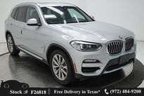 BMW X3 sDrive30i X LINE,NAV,CAM,PANO,HTD STS,19IN WHLS 2019