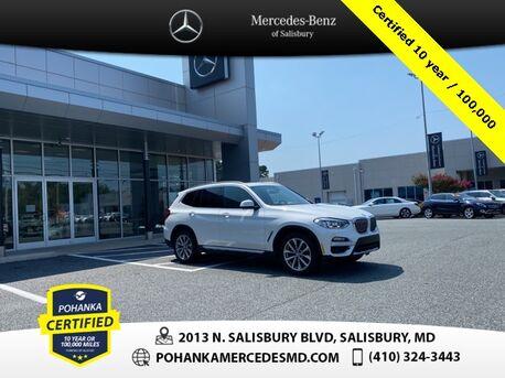 2019_BMW_X3_xDrive30i ** Pohanka Certified 10 year / 100,000 **_ Salisbury MD