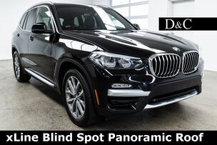 2019 BMW X3 xDrive30i xLine Blind Spot Panoramic Roof