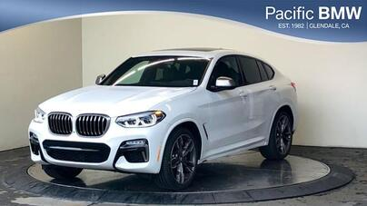 2019_BMW_X4_M40i Sports Activity Coupe_ Glendale CA