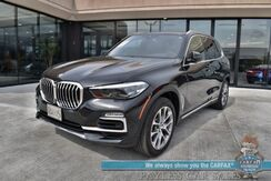 2019_BMW_X5_xDrive40i / AWD / Front & Rear Heated Leather Seats / Panoramic Sunroof / Navigation / Blind Spot Alert / Bluetooth / 360 Camera / Tow Pkg / 26 MPG_ Anchorage AK