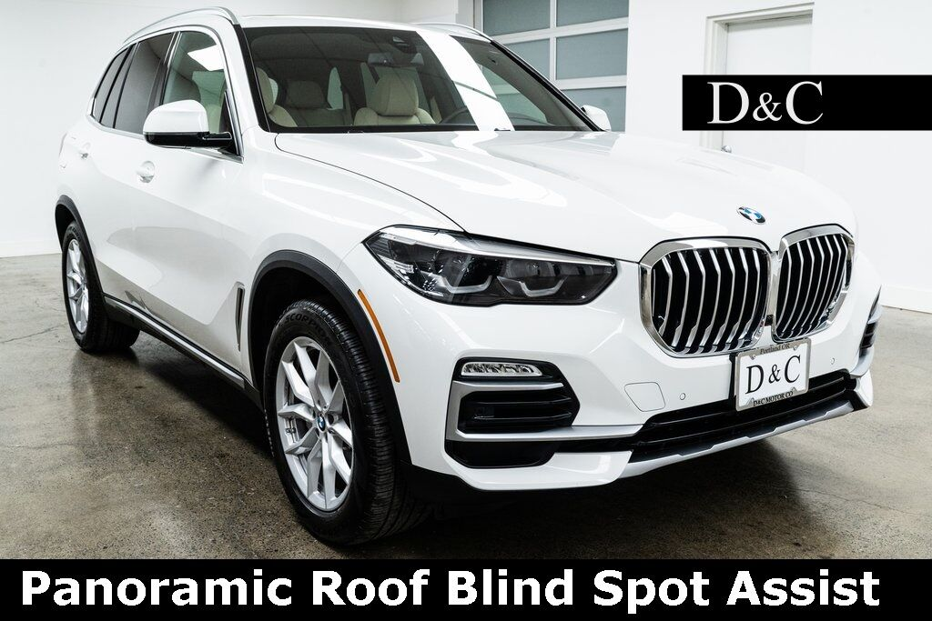 2019 BMW X5 xDrive40i Panoramic Roof Blind Spot Assist Portland OR