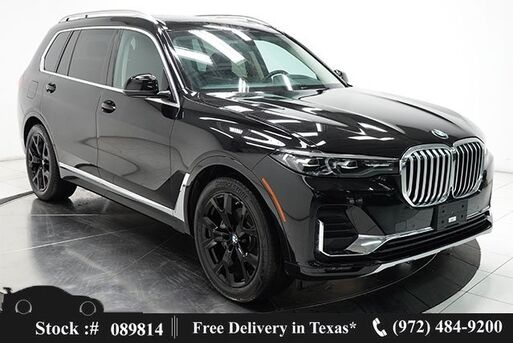 2019_BMW_X7_xDrive40i NAV,CAM,PANO,BLIND SPOT,21IN WLS,3RD ROW_ Plano TX