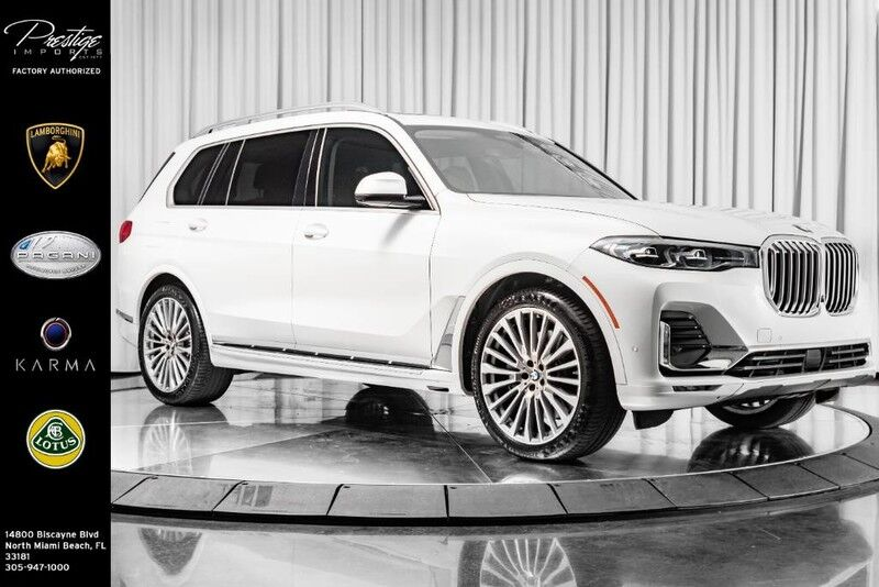 2019_BMW_X7_xDrive40i_ North Miami Beach FL