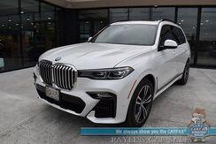 2019_BMW_X7_xDrive50i AWD / M-Sport / Dynamic Handling Pkg / Premium Pkg / Luxury Seating Pkg / Air Suspension / Heated Leather Seats & Steering Wheel / Harman Kardon / Sunroof / Adaptive Cruise / 3rd Row / Seats 7 / Only 6k Miles_ Anchorage AK