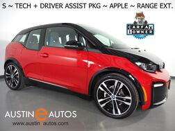 2019_BMW_i3 s 120 Ah Deka World w/Range Extender_*NAVIGATION, DRIVING ASSISTANT, ADAPTIVE CRUISE, COLLISION ALERT w/BRAKING, BACKUP-CAMERA, COMFORT ACCESS, HEATED SEATS, APPLE CARPLAY_ Round Rock TX