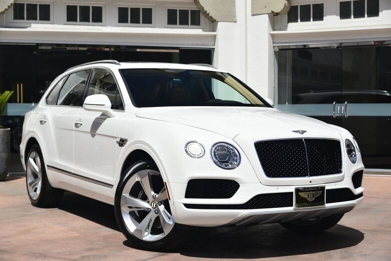 2019 Bentley Bentayga V8  Beverly Hills CA