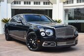2019 Bentley Mulsanne Speed W.O Edition