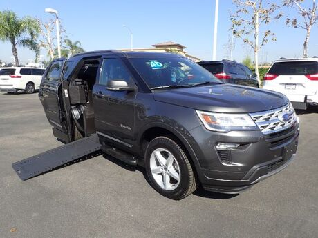 2019 BraunAbility Ford Explorer XLT w/ Power Ramp Anaheim CA