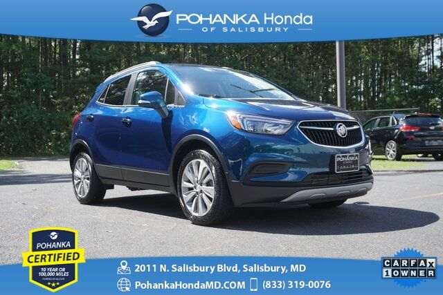 2019 Buick Encore Preferred ** Pohanka Certified 10 Year / 100,000  ** Salisbury MD