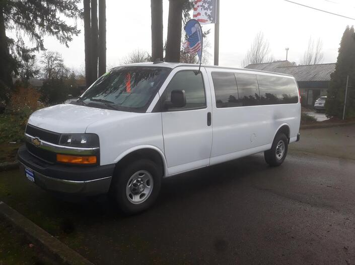 2019 CHEVROLET EXPRESS 3500 LT McMinnville OR