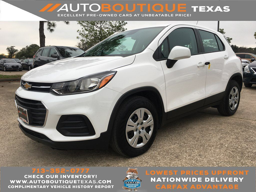 2019 CHEVROLET TRAX LS LS Houston TX
