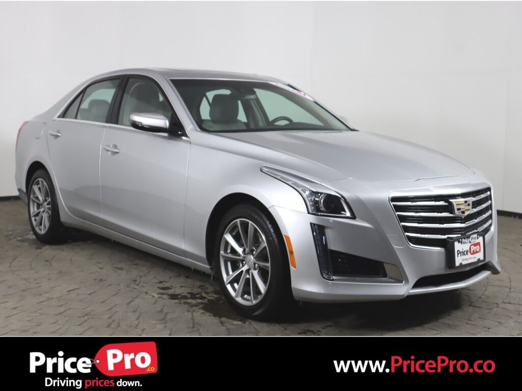 2019 Cadillac CTS Sedan Turbo Luxury AWD w/Nav/Sunroof Maumee OH