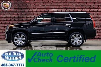 2019_Cadillac_Escalade_AWD Luxury Leather Roof Nav BCam_ Red Deer AB