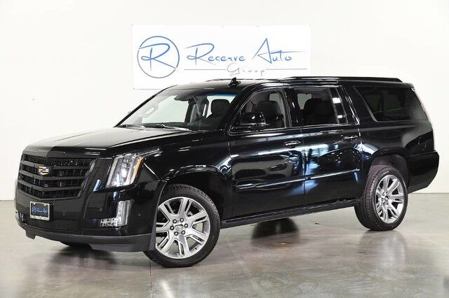 2019 Cadillac Escalade ESV 4WD Premium Luxury BlackOut Pkg Rear DVD Pwr Boards The Colony TX