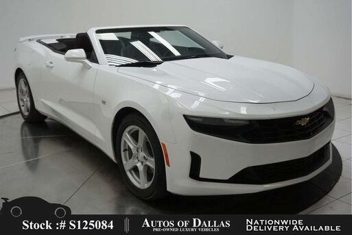 2019_Chevrolet_Camaro_1LT Convertible BACK-UP CAMERA,KEY-GO,18IN WLS_ Plano TX