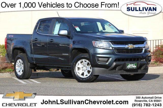 2019 Chevrolet Colorado 4WD LT Roseville CA
