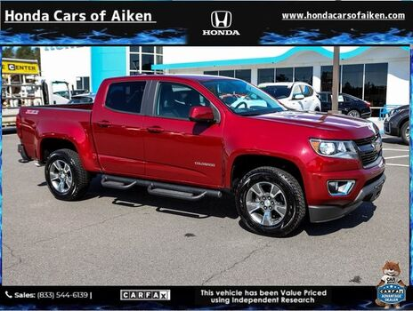 2019_Chevrolet_Colorado_Z71_ Aiken SC