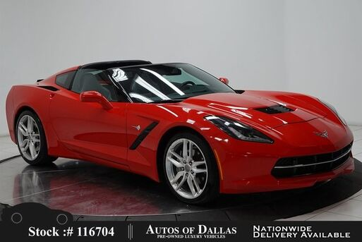 2019_Chevrolet_Corvette_NAV,CAM,TARGA ROOF,CLMT STS,HEADS UP_ Plano TX