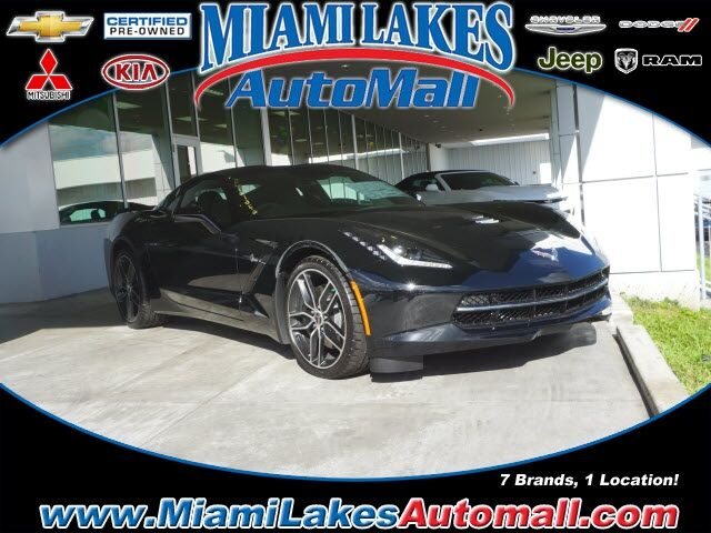 2019 Chevrolet Corvette Stingray Z51 Miami Lakes FL