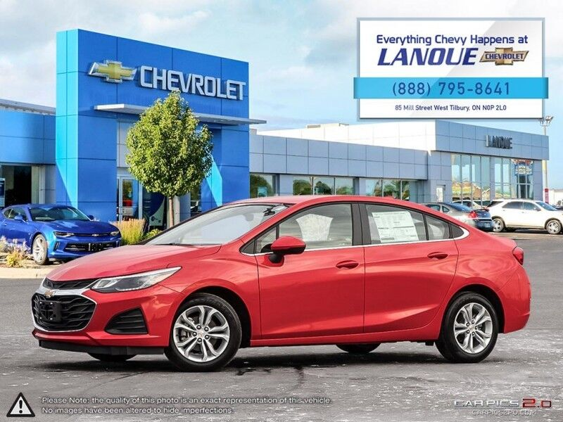 2019 Chevrolet Cruze LT  - Heated Seats -  Bluetooth Tilbury ON