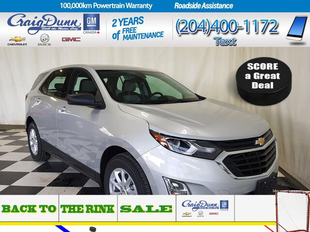 2019 Chevrolet Equinox * LS 1.5T FWD * HEATED SEATS * REMOTE START * Portage La Prairie MB